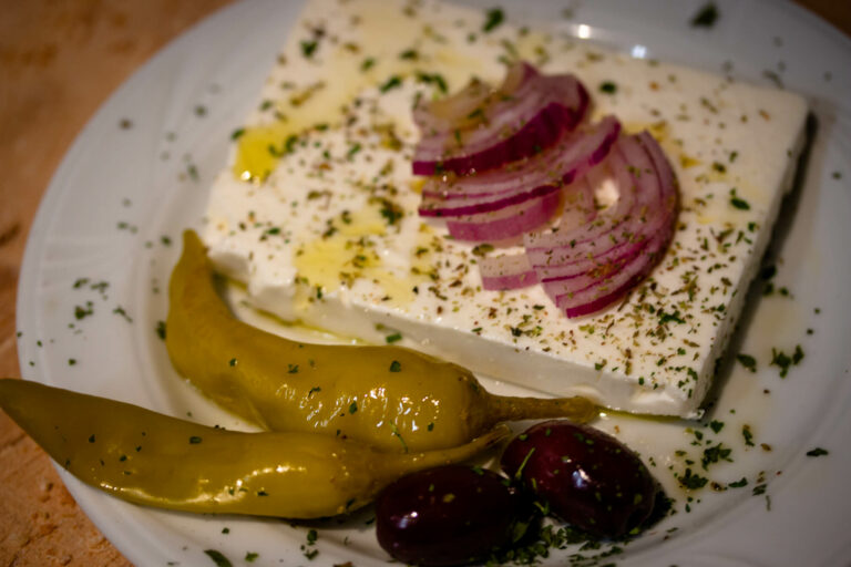 griechisch Essen in der Taverna Kolossos in Langenfeld