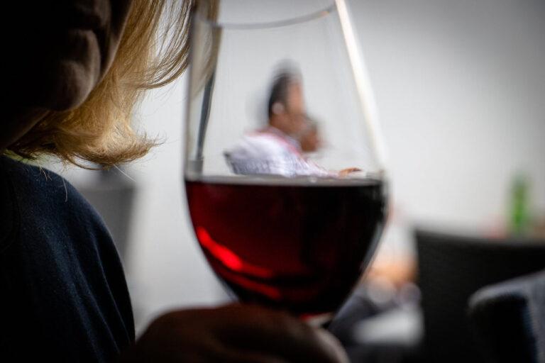 Taverna Kolossos Weinglas